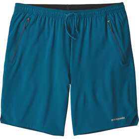 Patagonia M's Nine Trails Shorts Big Sur Blue